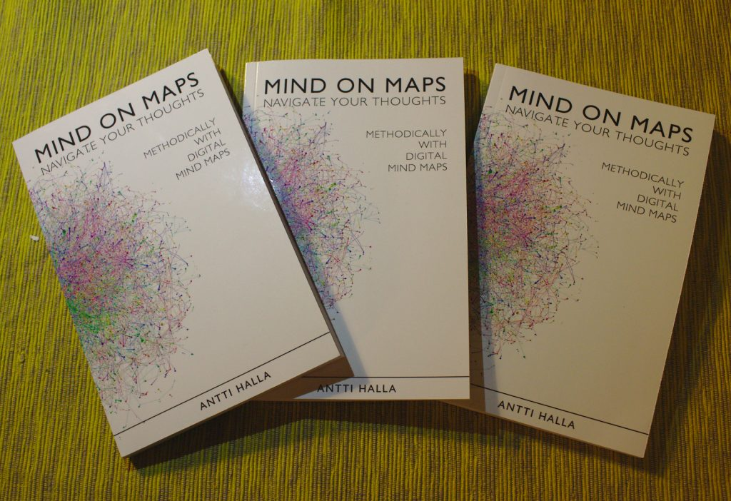 Mind on maps paperback books